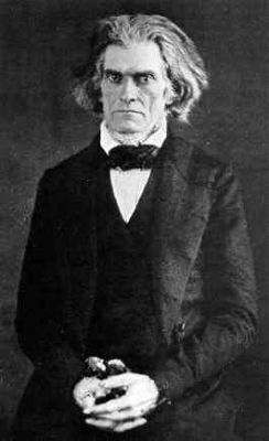 John C. Calhoun<br>March 18, 1782 &#8211; March 31, 1850 image. Click for full size.