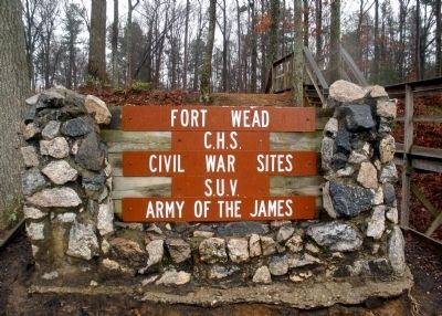 Fort Wead Marker image. Click for full size.