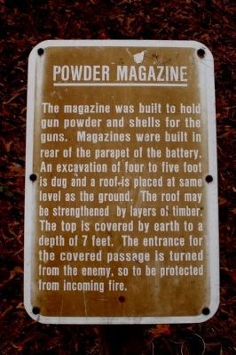 Powder Magazine image. Click for full size.