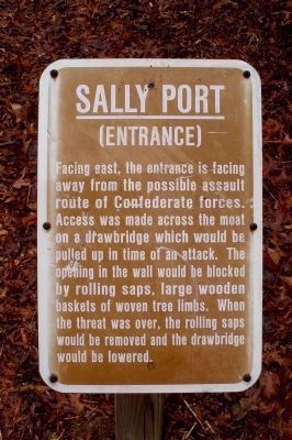 Sally Port (Entrance) image. Click for full size.