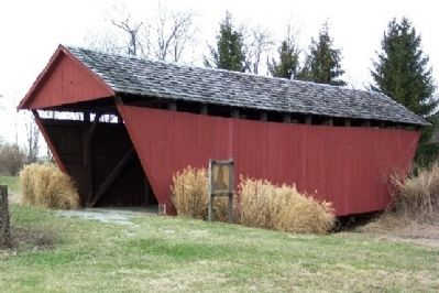 Hartman Covered Bridge image. Click for full size.