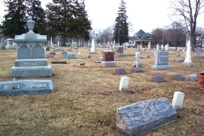 Forest Hill Union Cemetery image. Click for full size.