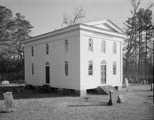 Black Mingo Baptist Church image. Click for full size.