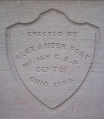 Alexander Post No. 158 G.A.R. Department of Ohio image. Click for full size.