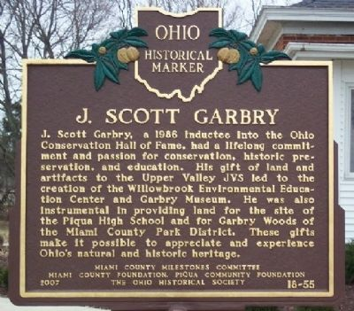 J. Scott Garbry Marker image. Click for full size.