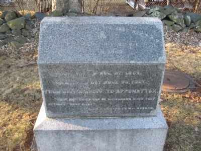106th Regiment Pennsylvania Volunteers Marker image. Click for full size.