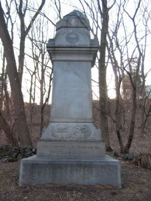 25th and 75th Ohio Infantry Regiments Monument image. Click for full size.
