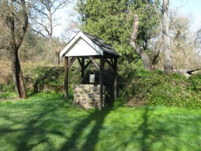 Well Replica Located in Backyard of the Papini House image. Click for full size.
