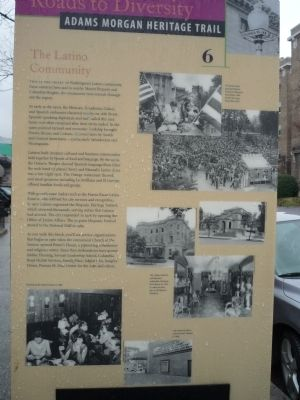 The Latino Community Marker image. Click for full size.