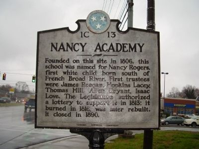 Nancy Academy Marker image. Click for full size.