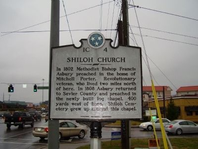 Shiloh Church Marker image. Click for full size.