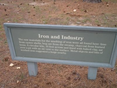 Iron and Industry Marker image. Click for full size.