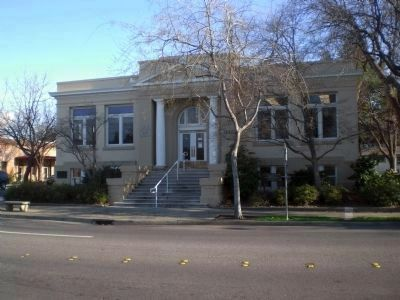 Oroville Carnegie Library image. Click for full size.