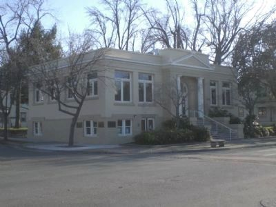 Oroville Carnegie Library (Constructed 1912) image. Click for full size.