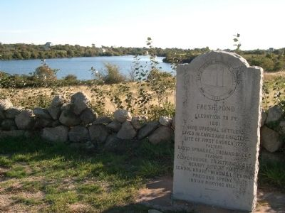 Fresh Pond Marker image. Click for full size.