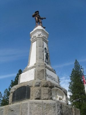 The Marshall Monument image. Click for more information.