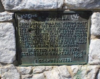 Orestimba Marker image. Click for full size.