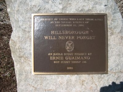 Hillsborough Will Never Forget Marker image. Click for full size.