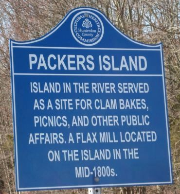 Packers Island Marker image. Click for full size.