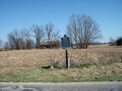 "Looking East - - Boyhood home of J. G. ""Uncle Joe"" Cannon. Marker image. Click for full size."