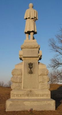 7th West Virginia Infantry Monument image. Click for full size.