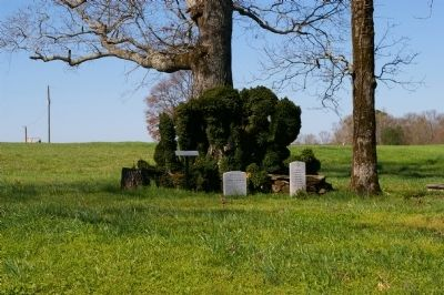 John Andrew's Grave and DAR Grave Markers image. Click for full size.