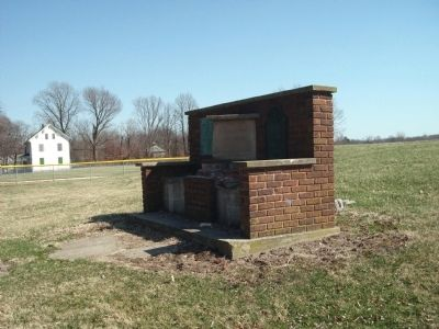 Penn Township School - Memorial image. Click for full size.