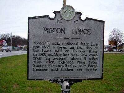 Pigeon Forge Marker image. Click for full size.