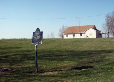 North View - - Armiesburg Marker image. Click for full size.