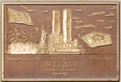 City of Greenville 9-11 Plaque image. Click for full size.