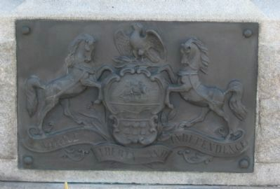 State Coat of Arms at Base image. Click for full size.