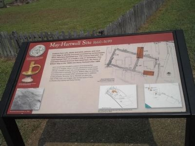 May-Hartwell Site Marker image. Click for full size.