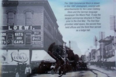 The 1860 Commercial Block image. Click for full size.