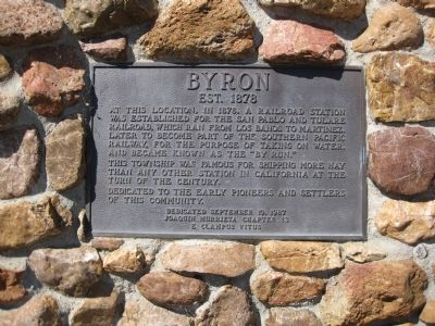 Byron Marker image. Click for full size.