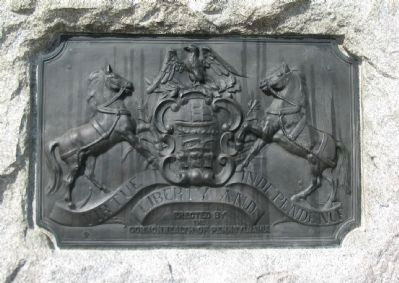 State Coat of Arms on Back image. Click for full size.