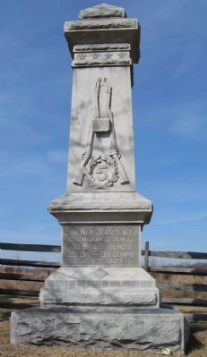 5th New Jersey Volunteers Monument image. Click for full size.