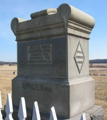 12th New Hampshire Volunteers Monument image. Click for full size.