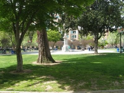 Current Day View of Cesar Chavez Park (Formerly Old City Plaza) image. Click for full size.