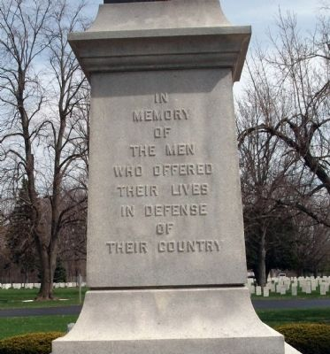 Danville (Illinois) National Cemetery Marker image. Click for full size.