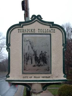 Turnpike Tollgate Marker image. Click for full size.