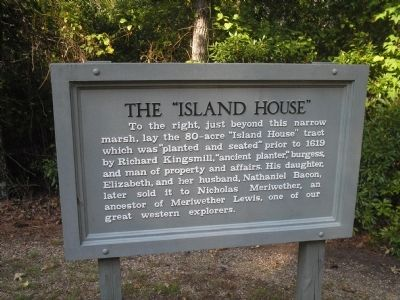 "The ""Island House"" Marker image. Click for full size."