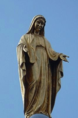 """Our Lady of the Mountain"" image. Click for full size."