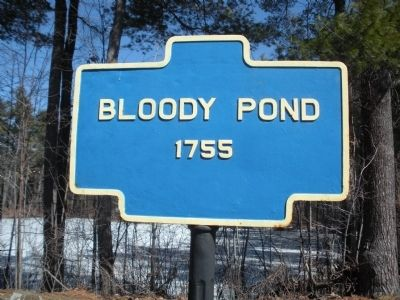 Bloody Pond Marker image. Click for full size.