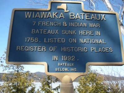 Wiawaka Bateaux Marker image. Click for full size.