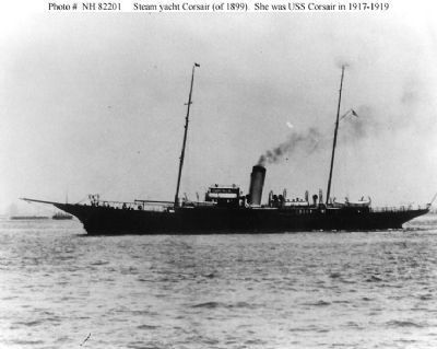 Steam Yacht Corsair, as mentioned image. Click for full size.