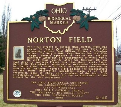Norton Field Marker (Side A) image. Click for full size.