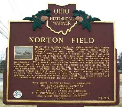Norton Field Marker (Side B) image. Click for full size.