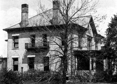 Old Photo - - Dr. William Fithian Home image. Click for full size.