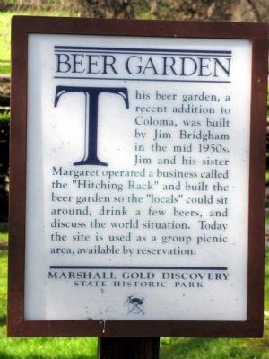 Beer Garden Marker image. Click for full size.