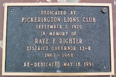 Pickerington Veterans Memorial Marker image. Click for full size.